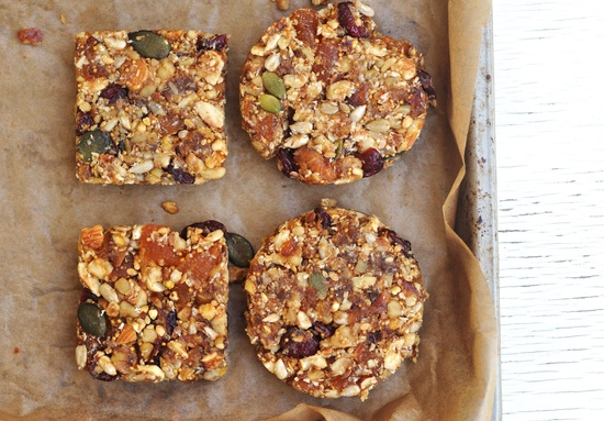 Anja's Food 4 Thought: Nutty Fruit Bars