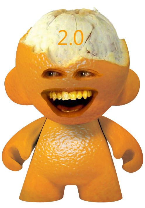 Annoying Orange Fan Photos- still life objects turned obnoxious.