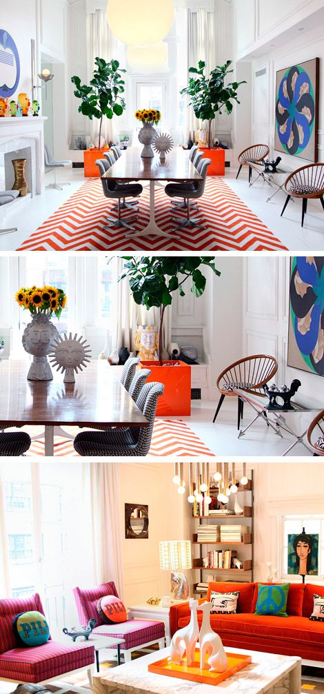 Happy Chic by Jonathan Adler. I love happy chic homes!