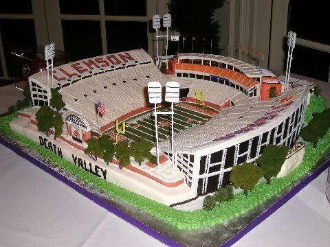 CLEMSON...yummy cake....