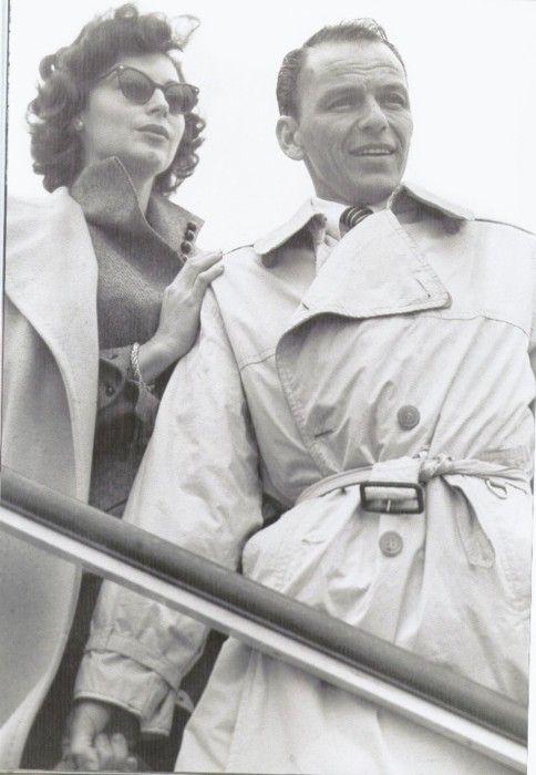 Favorite celebrity couple ever. #FrankSinatra #AvaGardner