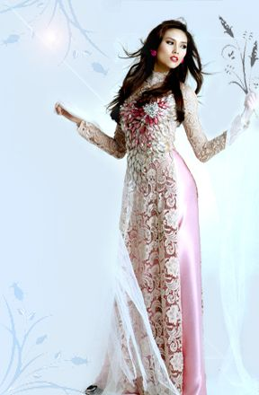 vietnamese ao dai. for when i go home to visit :)