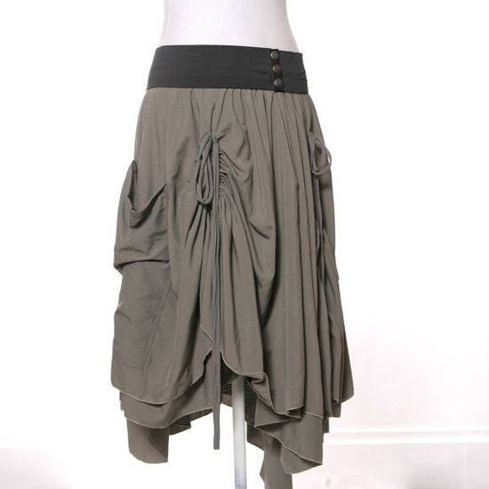 Bohemian Adjustable Bustle Maxi Skirt with by MiloCreativeStudios, $158.00