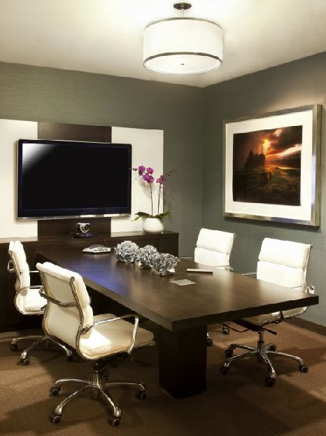 This is the perfect size and style Conference Room for the office. Definitely in the plans for 2014.