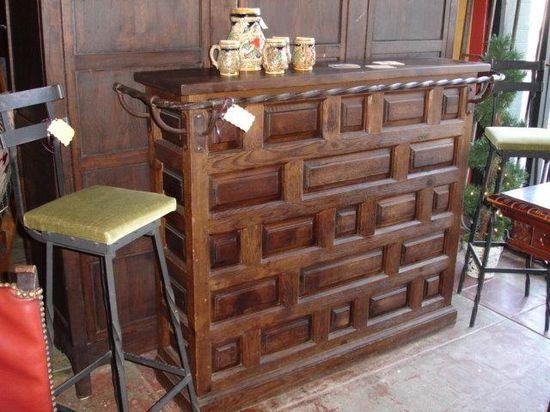 Spanish Antique Bar Antique Furniture