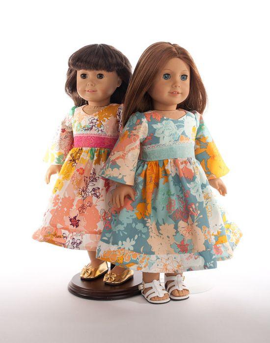mod American Girl doll clothes 18 inch doll clothing by PattiKuz, $23.00
