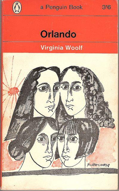 Orlando - Penguin book, cover by Paul Hogarth. 1965. via covers etc