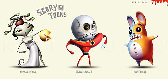 Cool 3D Cartoon Characters