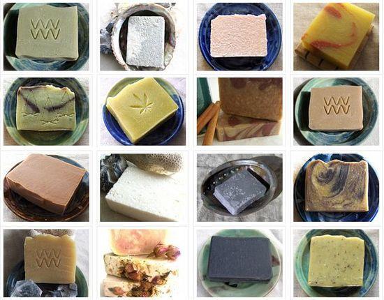 4 Handmade Soaps for 22 Soap Set by Aquarian Bath  by AquarianBath, $22.00