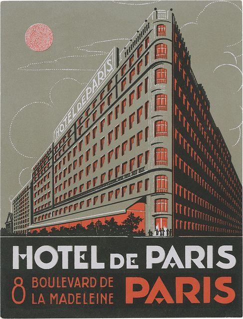 Hotel de Paris, Paris