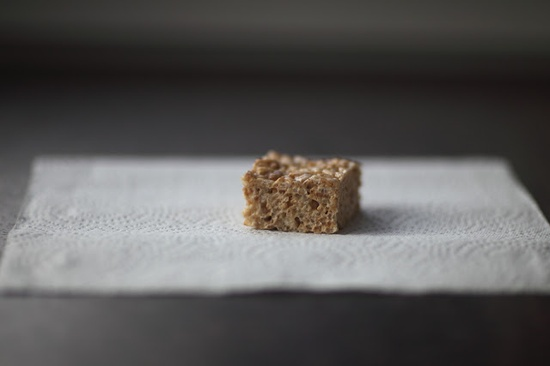 Salted Brown Butter Rice Crispy Treats