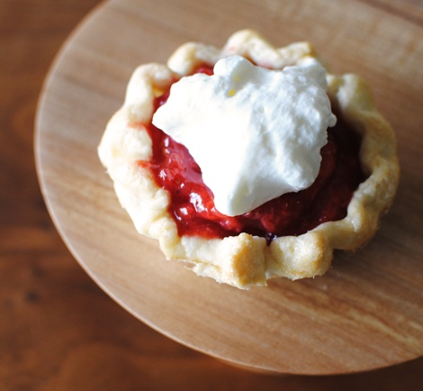 little strawberry pie.......oh my!