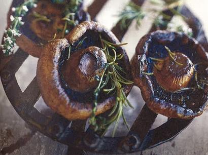 RECIPE: Smoked Mushrooms
