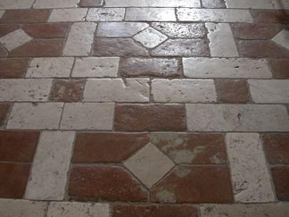 Terracotta floor design