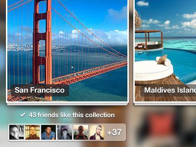 Dribbble - iPad website - Gallery Screen by Murat Mutlu