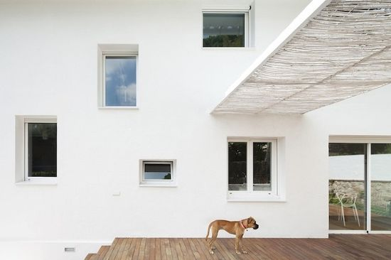 Baluster Lattice House by 05 AM Arquitectura in thisispaper.com