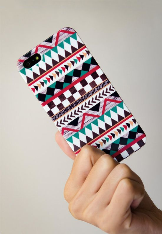 iphone 5 case - Aztec Case , Geometric Case , tribal Aztec , Aztec Geometric , iPhone 4s Case , iPhone 4 Case , Plastic Case. $24.00, via Etsy.