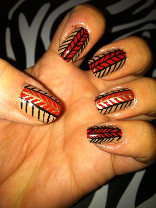 thanksgiving #nail #nails #nailart