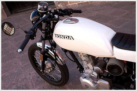 CRQ Cycles' Honda CGL125 CaféRacer