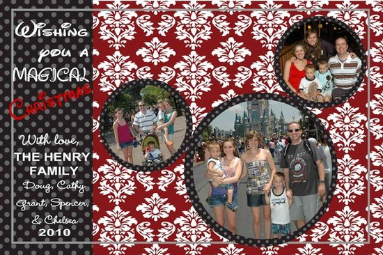 I love this a Christmas photo or scrapbooking idea :)