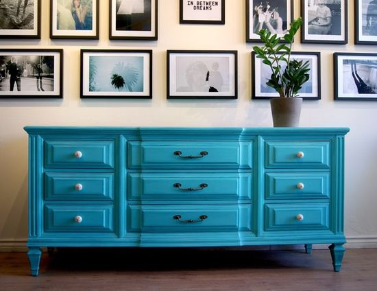 Gorgeous turquoise pop of colour for the home