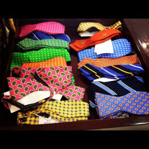 ties and bow-ties!