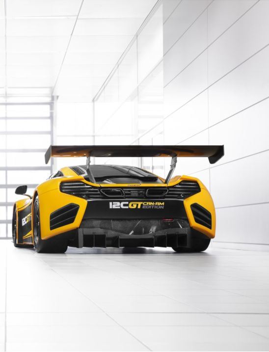 Magnificent #McLaren 12C GT Can-Am Edition - One of the best 'track cars' of 2013. Find out more by clicking on its rear!