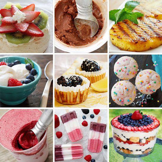 Light Summer Desserts