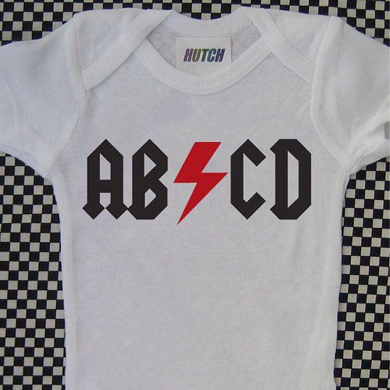 acdc onesie