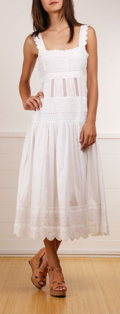 lace prairie dress