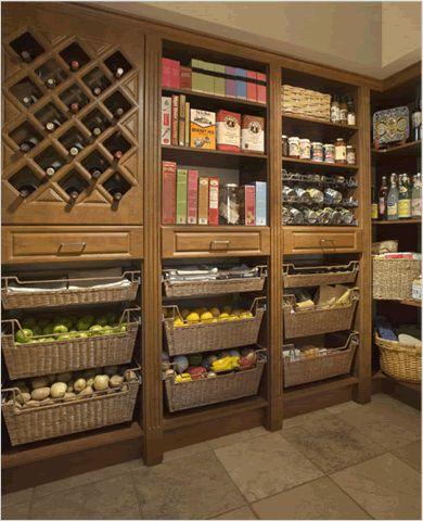 33 Cool Kitchen Pantry Design Ideas