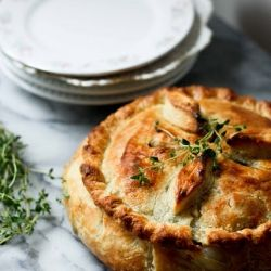 Spring Vegetable Pot Pie. Vegan and Healthy! Easy Recipe.