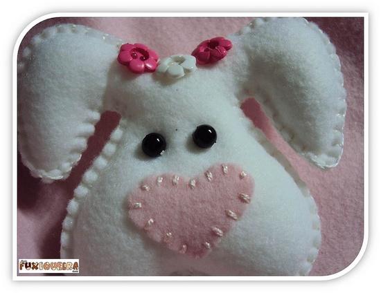 Cute bunny out of felt