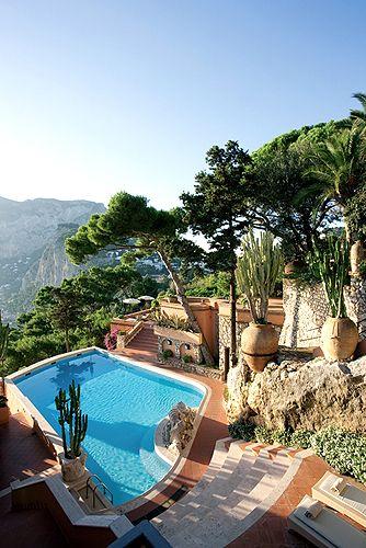 Punta Tragara, Luxury Hotel, Italy Beach Resort, Capri, SLH