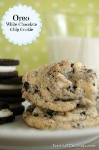 Oreo White Chocolate Cookie on MyRecipeMagic.com