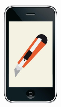 iphone knife