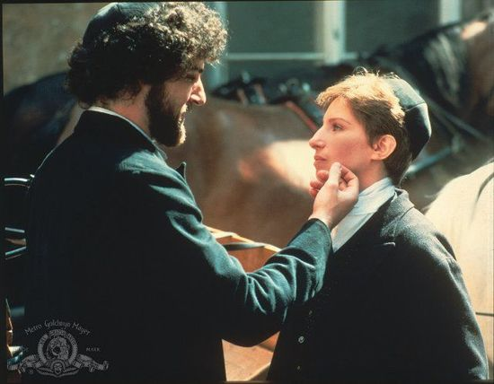 Yentl-Barbra Streisand and Mandy Patinkin. This movie is one of my favs!