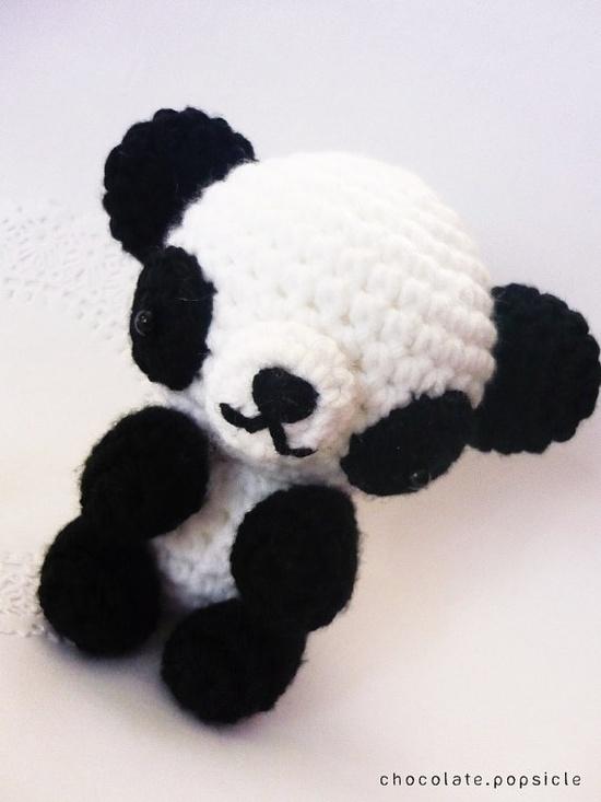 Kawaii Panda Amigurumi : Amigurumi Panda Bear #handmade #kawaii Crochet Pinterest