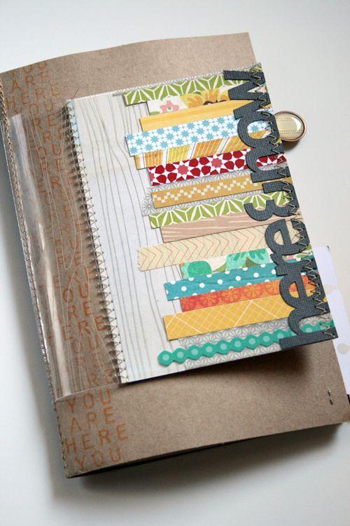 Amy Tangerine mini book cover idea