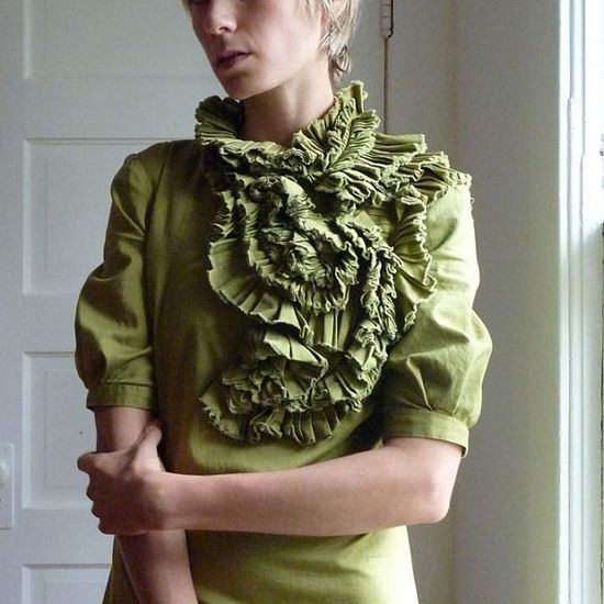 BIB LETTUCE DRESS made to order by katetowers on Etsy, $156.00