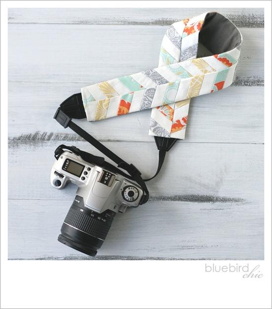 sunburst chevron camera strap cover. Amazing!