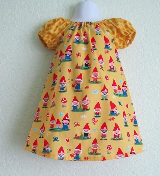 peasant dress - Gnomeville...Luv this