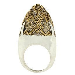 House of Harlow Diamond Dome Ring #markethq