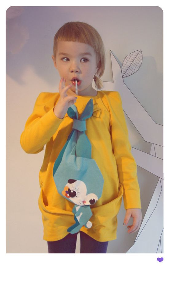 MINIMA romper & bunny toy par neezapodoma sur Etsy, €76.00