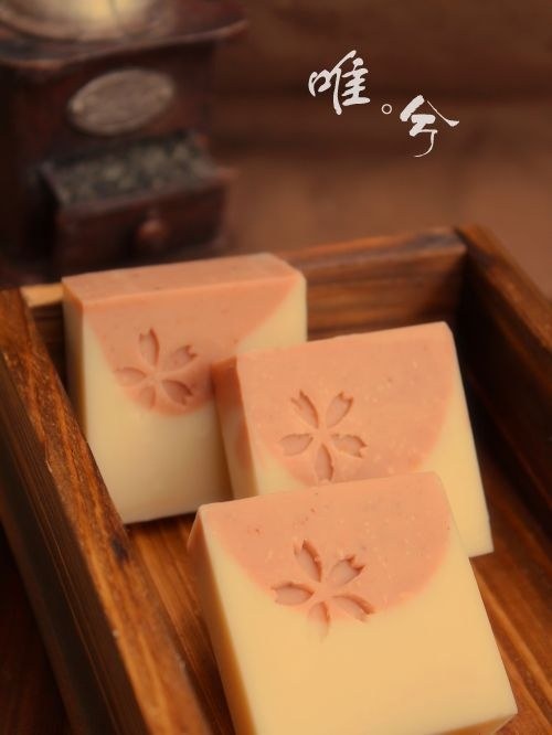 $7 Rose handmade soap