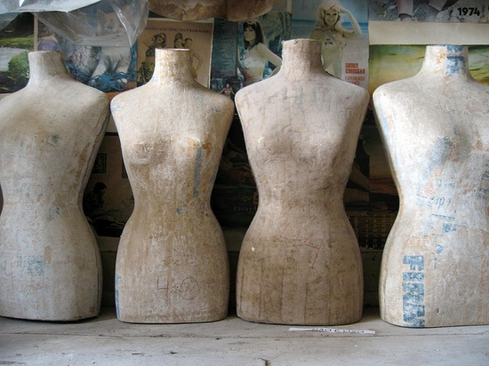 old dress forms