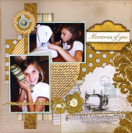 Memories Of You - Scrapbook.com
