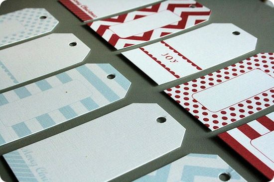 Gift tags - free printables