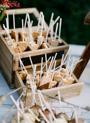 S'mores pops! I love this idea! How fun!