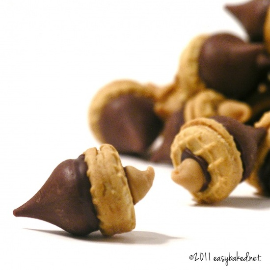 Acorn Candy - yummy and cute!